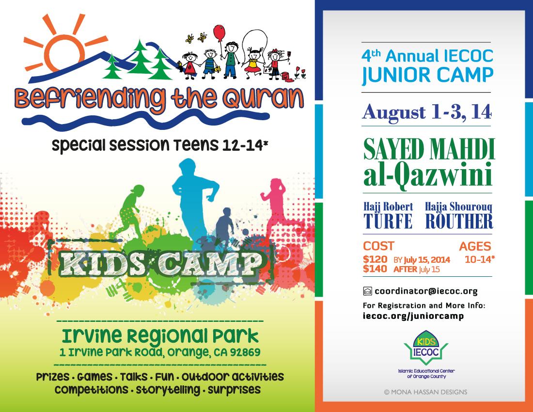 Junior camp registration still open iecoc islamic educational qurancampflyerfinal stopboris Choice Image